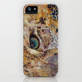Leopard Dynasty iPhone Case