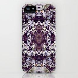 Mirrored Lichen iPhone Case