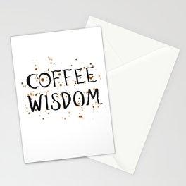 Coffee Wisdom Stationery Cards