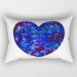 Space Heart Rectangular Pillow