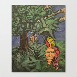 Personalitree Canvas Print