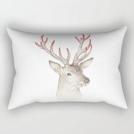Not so deer Rectangular Pillow