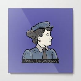 Annie Londonderry Metal Print