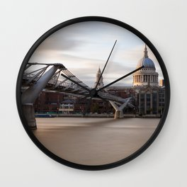 London 3 Wall Clock