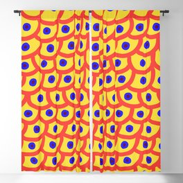 Trypophobia - Yellow Blackout Curtain