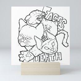 Faces of Death Mini Art Print