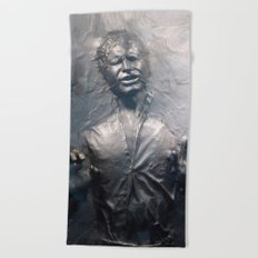 Han Solo Carbonite Beach Towel