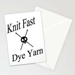 Knit Fast X Dye Yarn Stationery Cards