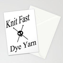 Knit Fast X Dye Yarn Stationery Cards