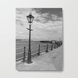 The Black Lamp Metal Print