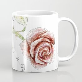 The nightgale and the rose Coffee Mug