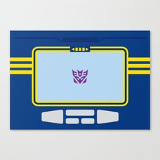 Soundwave Transformers Minimalist Canvas Print