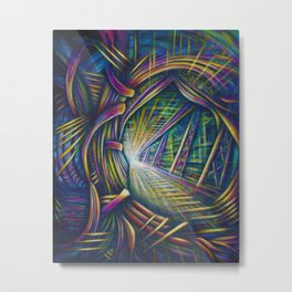 Bright Future Metal Print