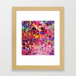 Bubblegum Yum Framed Art Print