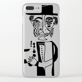 Trane Sketch Clear iPhone Case