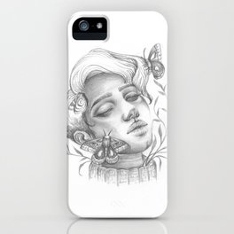 Some woman are more moth than butterfly iPhone Case