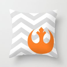 Star Wars Rebel Alliance Chevrons Throw Pillow