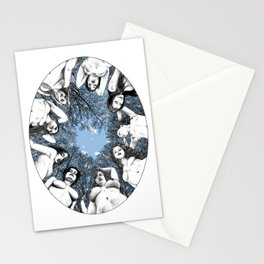 asc 783 Les piliers du ciel (The last meal) Stationery Cards