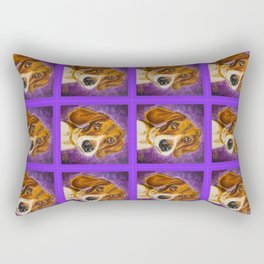 Arrogant Puppy Rectangular Pillow