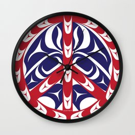 In the Spirit of Peace Wall Clock
