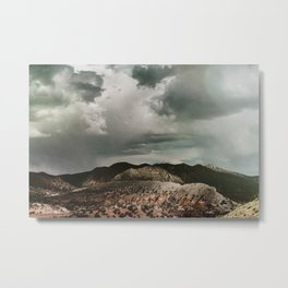 Jump Over the Hills Metal Print