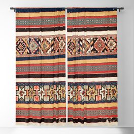 Salé  Antique Morocco North African Flatweave Rug Print Blackout Curtain