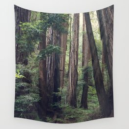 The Redwoods at Muir Woods Wall Tapestry
