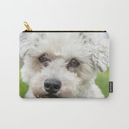 Old Dogs See Into Your Soul Carry-All Pouch