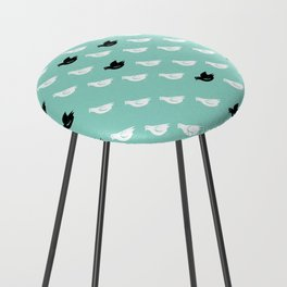 Flock of pigeons Counter Stool
