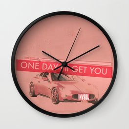 INVSBL: one day i'll get you Wall Clock