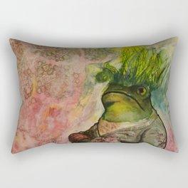 Hair of the Frog Rectangular Pillow