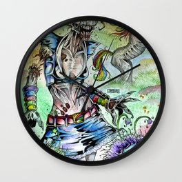 A Rainbow In The Dark Wall Clock