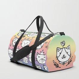 Cat doodles Duffle Bag