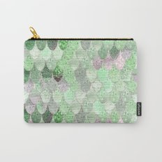 SUMMER MERMAID - GREEN & PINK Carry-All Pouch
