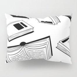 BOOK OBSESSION MONOCHROME PATTERN Pillow Sham