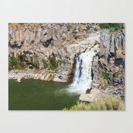 Twin Falls Misses its Twin Canvas Print