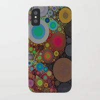 circles iPhone & iPod Cases featuring Circles by Olivia Joy StClaire