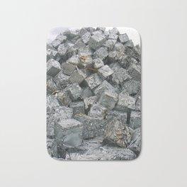 Aluminium Cubes ... Bath Mat