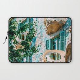 Casa Batllo Print, Antoni Gaudi Architecture, Famous Barcelona Landmark Print, House Batllo, Urban Details, Charming Architectural Details, Retro Home Laptop Sleeve