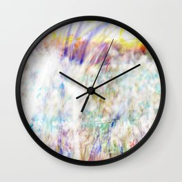Sunrise of Sunset On Fire Wall Clock