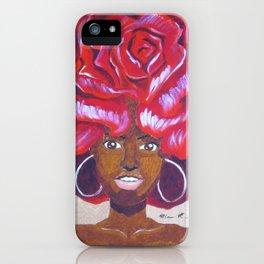Beautiful as a Rose iPhone Case