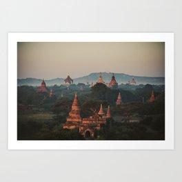 Asia 4 Art Print
