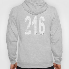 Vintage Cleveland Area Code 216 Hoody