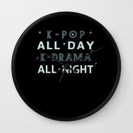 K-pop All Day Wall Clock