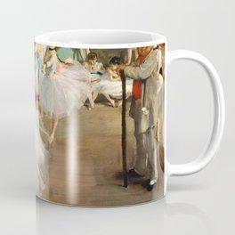 Edgar Degas - The Dance Class Coffee Mug