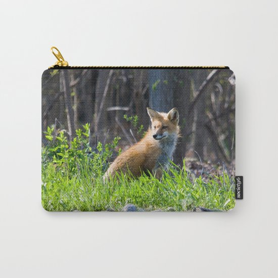 Foxy in the Morning Carry-All Pouch