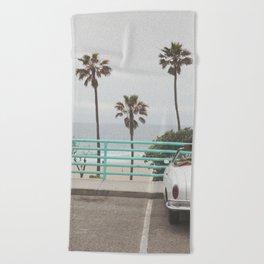 Cruisin Manhattan Beach Beach Towel