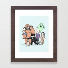 Retro Childhood Framed Art Print
