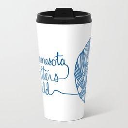 MKG Yarn - Blue Travel Mug
