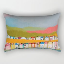 les iles Rectangular Pillow